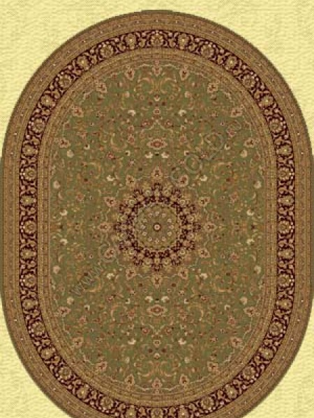 Шерстяной ковер Флоаре 207-5542 Овал