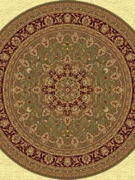 Шерстяной ковер Floare-carpet ISFAHAN 207-5542 Круг