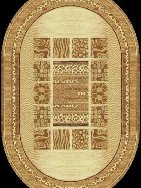 Молдавcкий ковер Флоаре карпет Сафари 013-1149 Овал