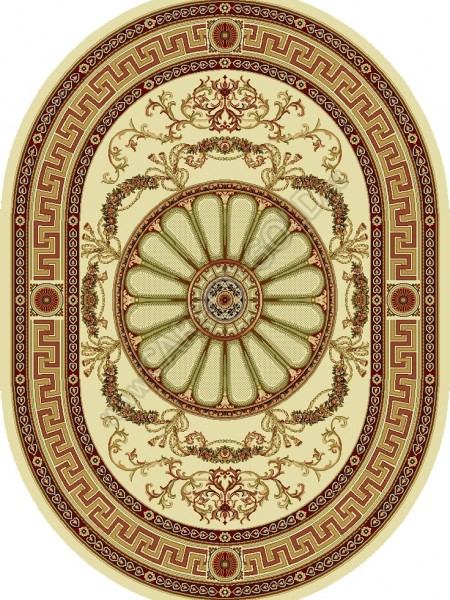 Молдавский ковер Floare-Carpet ELITA R 352-1126 Oval