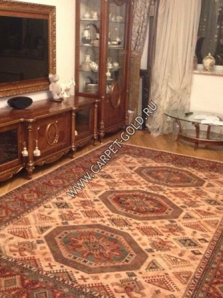 Шерстяной ковер коллекции «KASHQAI» 4317-100 из Бельгии