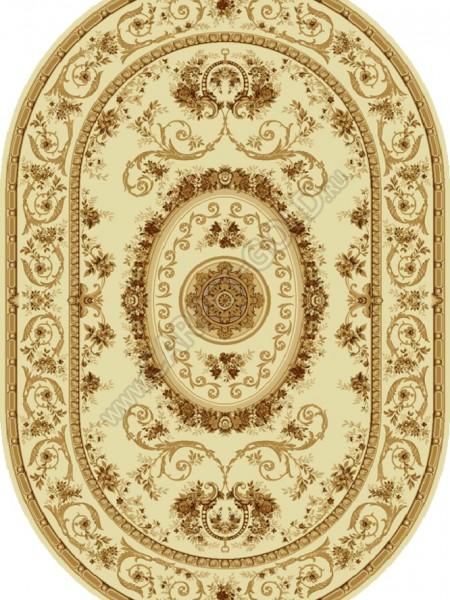 Молдавские ковер из шерсти Floare-Carpet VENET 284-1149 Овал